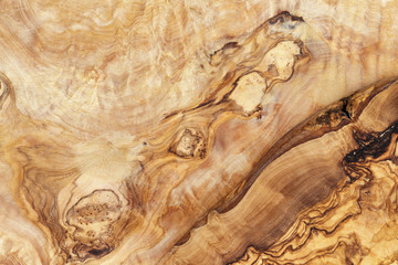 high detailed texture of olive wood board