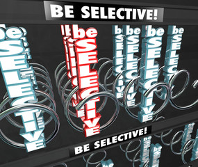 Be Selective 3d Words Snack Vending Machine Choosy Picky Fussy D