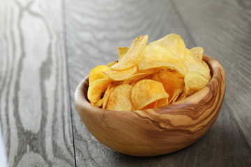 potato chips with paprika