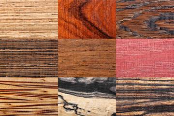 Wood backgrounds set