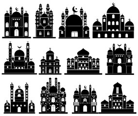 Vector of Mosque Icon