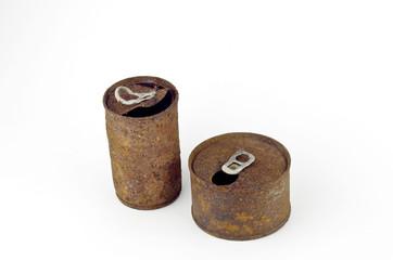 zinc cans