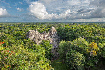 Ruins of Becan, Yucatan, Mexico