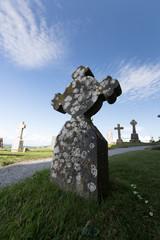 Chateau et cimetière de Cashel en Irlande