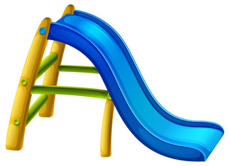 A slide at the playground