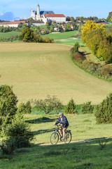 Radtour an einem schönen Herbsttag