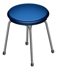 A round chair