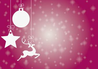 Just Purple Christmas Card