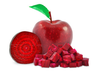 Beetroot and apple