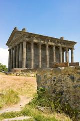 Antique temple in Garni, Armenia