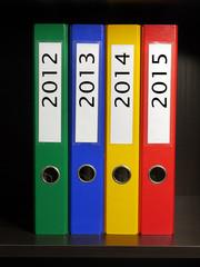 Four binders