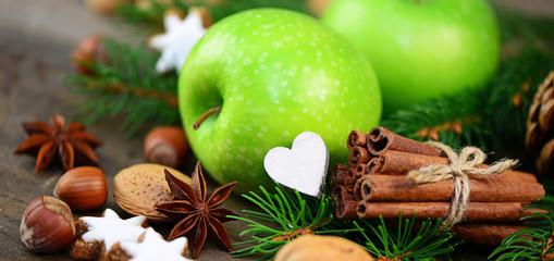 Apfel, Weihnachten