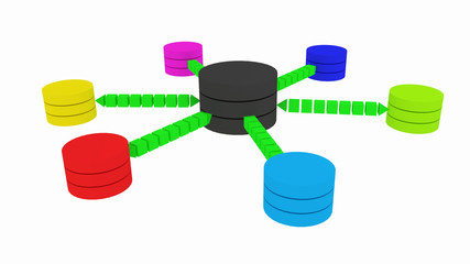 scheme of a database