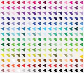 web color palette. vector illustration