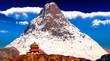 Buddhist temple in Tibet