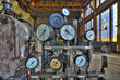 Indicators for the measurement in an old factory. - 71633558