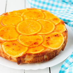 Orange Upside Down Cake