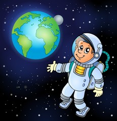 Image with space theme 6