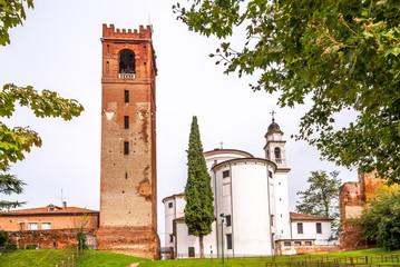 Cathedral of Castelfranco with tower