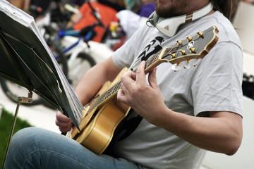 guitarist, music