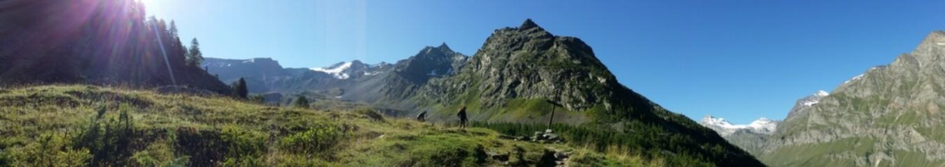 Panorama montano