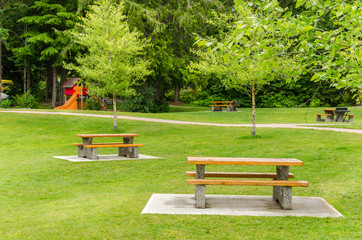 Recreation Area with Picnic Tables