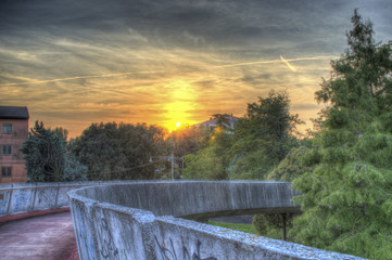 HDR Sunset in Mestre