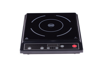 Electric burner on stove