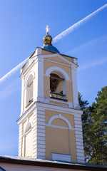Belfry Church of the Epiphany in the village Perhovo
