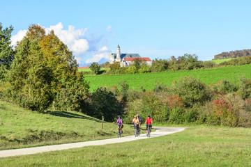 Senioren-Radtour in herbstlicher Natur