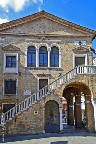 Staande foto Venice Mestre, piazza ferretto
