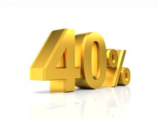 golden 40 discount