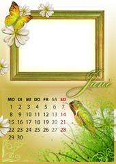Kalender 2015 deutsch alle bundesländer JUNI