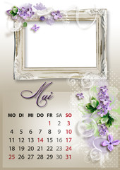 Kalender 2015 deutsch alle bundesländer MAI