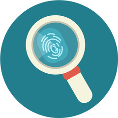 Vector fingerprint under a magnifier