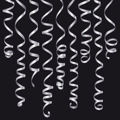 Holiday serpentine ribbons cet
