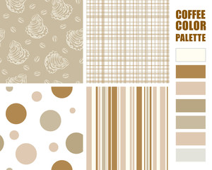 Fabric pattern set.