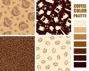 Fabric pattern set.