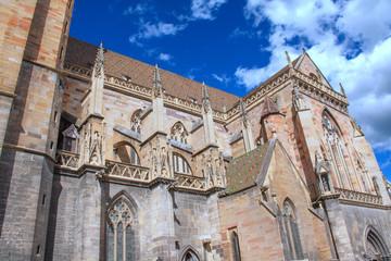 Collégiale Saint Martin à Colmar, Haut Rhin, Alsace