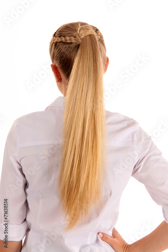 canvas print picture Blonde Haare
