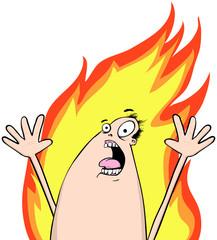 Toastie Thomas Man On Fire
