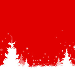 Weihnachten Winter Baum Schnee