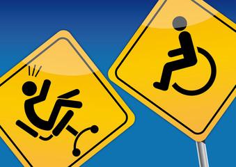 Berufsunfähigkeit, Unfallversicherung