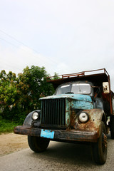 old cuban truck