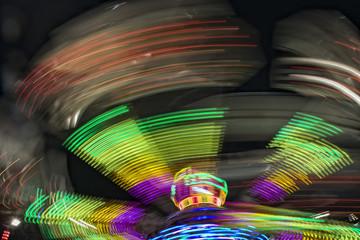 Luna Park moving lights background