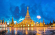 Shwedagon in twilight - 71642927
