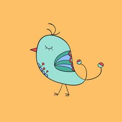 mint bird