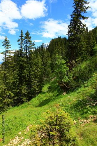 canvas print picture In den Dolomiten