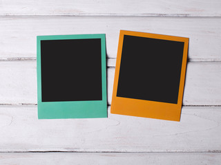 Two color frames