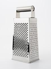 Vierkant-Küchenreibe aus Metall